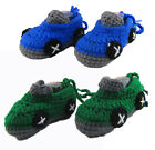 Baby Crochet Shoes Boy Car Shoes Handmade Knitted Slippers Special Gift