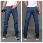 men's Jean Cotton Denim Straight Leg Mid Rise 28 29 30 31 32 33 34 36 37 38