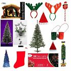Christmas/xmas All in one decoration and festive goods - hat,trees,lights,etc