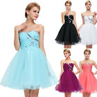 NEW Bridesmaid Evening Formal Prom Gown Party Cocktail Ball Long / Short Dress