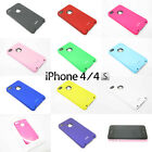 For iPhone 4 4S Moshi iGlaze Back Ultra Thin Case Cover 10 Colours High Quality