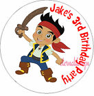 PERSONALISED BIRTHDAY PIRATE JAKE STICKERS SEALS GIFT FAVOURS INVITES KIDCS30