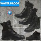 Tactical Boots Black Police Swat Boots Military Combat Boots Security WaterProof