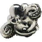 Femme Metale .925 Sterling Silver Octopussy Ring Octopus Nautical