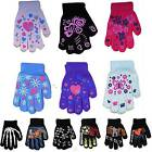 Kid Girls Boys Winter Magic Magic Gripper None Slip Fashion Gloves 12 Designs