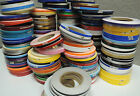 """1/4"""" x 150 ft Roll Vinyl Pinstriping Vinyl Striping Tape 25 Colors Available!"""