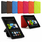 """ORIGAMI THIN SMART STANDING LEATHER CASE COVER FOR NEW AMAZON KINDLE FIRE HDX 7"""""""
