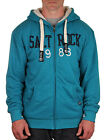 NEW Saltrock Mens Simple Hoody Turquoise - Ski,Snowboard,Outdoor Clothing