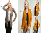 T26 New Womens Stretch Long Sleeves Cardigan Shrug Lace Tops Jackets Plus Size
