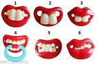 Funny Dummy Dummies Pacifier Novelty Teeth  Baby Child Soother Uk Seller Uk P&P
