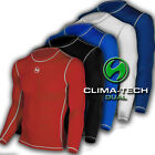 Mens Dual Compression Long Sleeve Top Sub Sports Base Layer