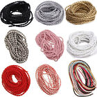 5/10/100m Wholesale Man-made Leather Craft 3mm Braid Rope Hemp Cord Fashion
