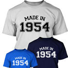MADE IN 1954 - Mens Age 60 Year Of Birth T Shirt