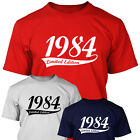 1984 LIMITED EDITION - Mens 30th Birthday T Shirt Gift