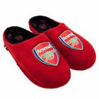 BOYS SIZE 3-6 OFFICIAL ARSENAL FOOTBALL CLUB SLIPPERS SLIP ON NEXT DAY POST BNWT