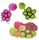 Knitted Hats Baby Newborn Photography Props Girls Handmade Tortoise Outfit