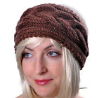 Headband, Winter, Ladies, Womens, Warm Hat Wool Braid Knitted, Ski Earmuff