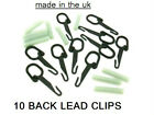 CARP FISHING BACK LEAD CLIPS + SILCONE SLEEVES FISHING TACKLE MADE IN THE UK