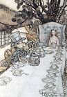Arthur Rackham ALICE IN WONDERLAND Ref 08 PRINT A4 or A5 Size Unframed