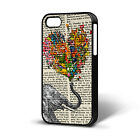 Vintage Newspaper Aztec Elephant CASE COMPATIBLE WITH IPHONE