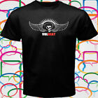New Volbeat Band LOGO Men's Black T-Shirt Size S-3XL