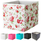 Ikea DRONA Canvas Storage Box For Expedit Unit Set CATH KIDSTON ROSALI 33x33x38