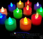 Bulk 12x 12pk LED Tealight Candles (144pcs)