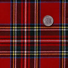 ACRYLIC DRESS CLOTHES SKIRT SCHOOL UNIFORM FABRIC RETRO SCOTT TARTAN CHECK PLAID