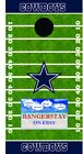 Premium Vinyl Decal Wraps (2) For Cornhole Bags Game - Dallas Cowboys (dc1)