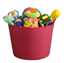 42L FLEXI TUB / TOY BOX / KIDS / CHILDREN / CHILD / STORAGE / TIDY / BUCKET