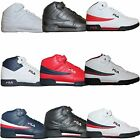 Mens Fila F13 F 13 Classic Mid High Top Basketball Shoes Sneakers White Black
