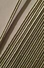 Silver Russia Braid, Mylar, Army, Military, Lace, 1m length, Braiding, All Sizes