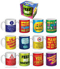 Brainbox Candy Mugs rude funny cheeky joke gift tea cup coffee birthday present