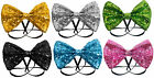 Glitter Bow Tie - Choose From 7 Colours - Fancy Dress Costume Party