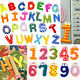 Teaching Kid Childen Learning Magnetic Letters Numbers Fridge Magnets Alphabet