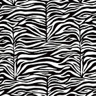 """MED WT COTTON TIGHT WEAVE FABRIC BEDDING CLOTHES COVERING ZEBRA SKIN STRIPE 44""""W"""