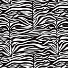 "MED WT COTTON TIGHT WEAVE FABRIC BEDDING CLOTHES COVERING ZEBRA SKIN STRIPE 44""W"