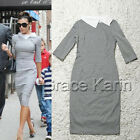 Womens Vintage Fitted Skirts OL Ladies Stretch Shift Sheath Party Pencil Dress