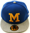 New Era Cap 59Fifty Milwaukee Brewers Heathered Out Blue/Grey Fitted