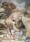 Arthur Rackham BOOK OF PICTURES 1913 Ref 04 PRINT A4 or A5 Size Unframed