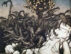 Arthur Rackham BOOK OF PICTURES 1913 Ref 11 PRINT A4 or A5 Size Unframed