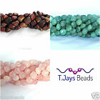 8mm Polished Gemstone Nugget Beads for Jewellery Making