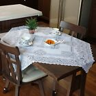 New Floral Printed Decor Lace Tablecloth Dining Table Runner Mantle Scarf Cloth
