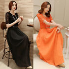 Fashion Ladies Cocktail Evening Party Lace Vintage Long Dress MAXI Formal Gowns