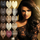 """Long 16""""-30"""" Heavy Weight 80g 100g 120g Clip in Human Hair Extensions Full Head"""