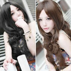 NEW FASHION STYLE WOMEN'S GIRL'S SEXY LONG FULL HAIR WIG WAVY CURLY COSPLAY BHBK
