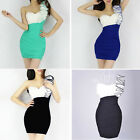 Women Sexy one shoulder Mini / Short Cocktail Prom Party Ball Club Evening Dress