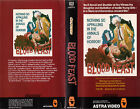 BLOOD FEAST Movie POSTER Horror 80's VHS Art