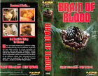 BRAIN OF BLOOD Movie POSTER Horror 80's VHS Art