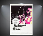 Dirty Harry Clint Eastwood Vintage Movie Poster - A1, A2, A3, A4 available